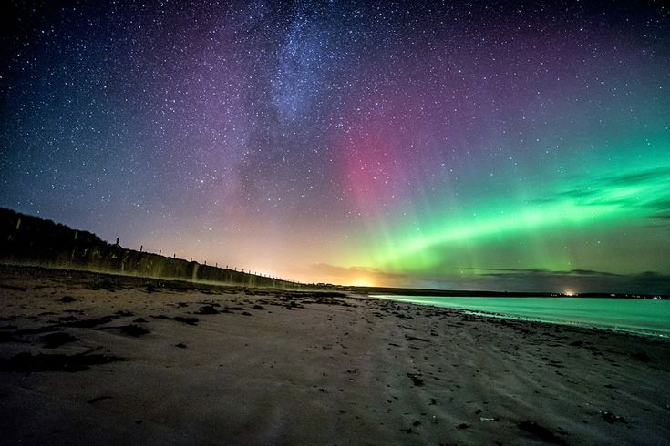 Including the Shetland Isles, Durness and Fraserburgh near Aberdeen. | 10 Breathtaking Photos Of The Northern Lights, Taken On A Scottish Island
