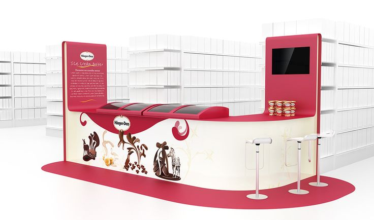 Products tasting stands (COLLECTION) on Behance