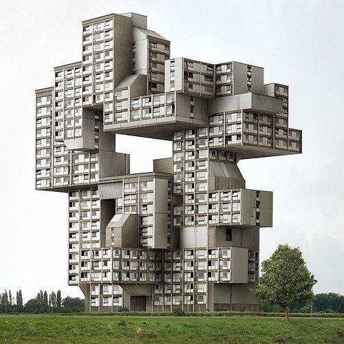 """Ein Haus Gebaut Wie Früher Das Computerspiel """"Tetris"""