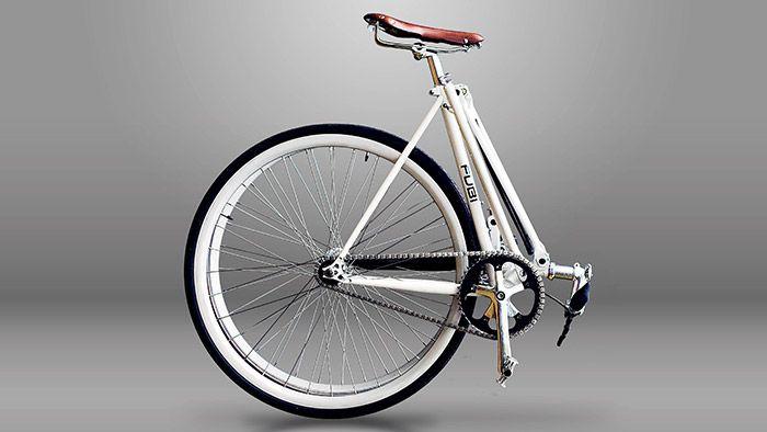 Fubi Fixie je plnohodnotné rychle skládací jízdní kolo