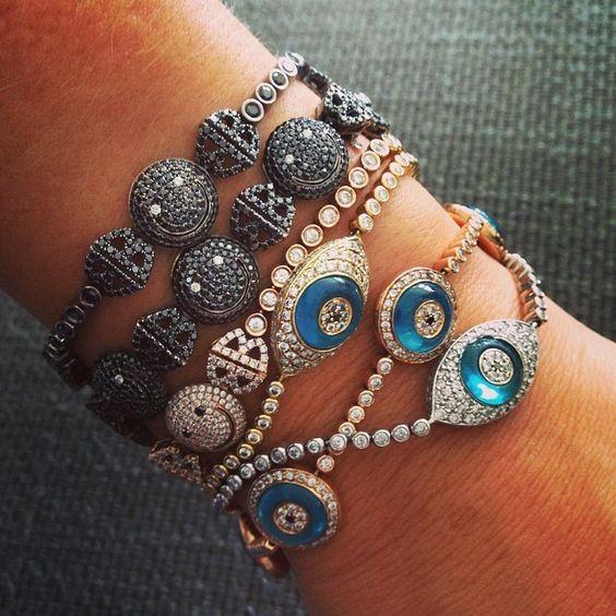 Lorraine Schwartz bracelets *-*