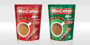 Mac coffee Max coffee bags in two attractive red and green colors  #coffee #pouches #coffee #packaging #bags.for more information visit us at www.coffeebags.co.za
