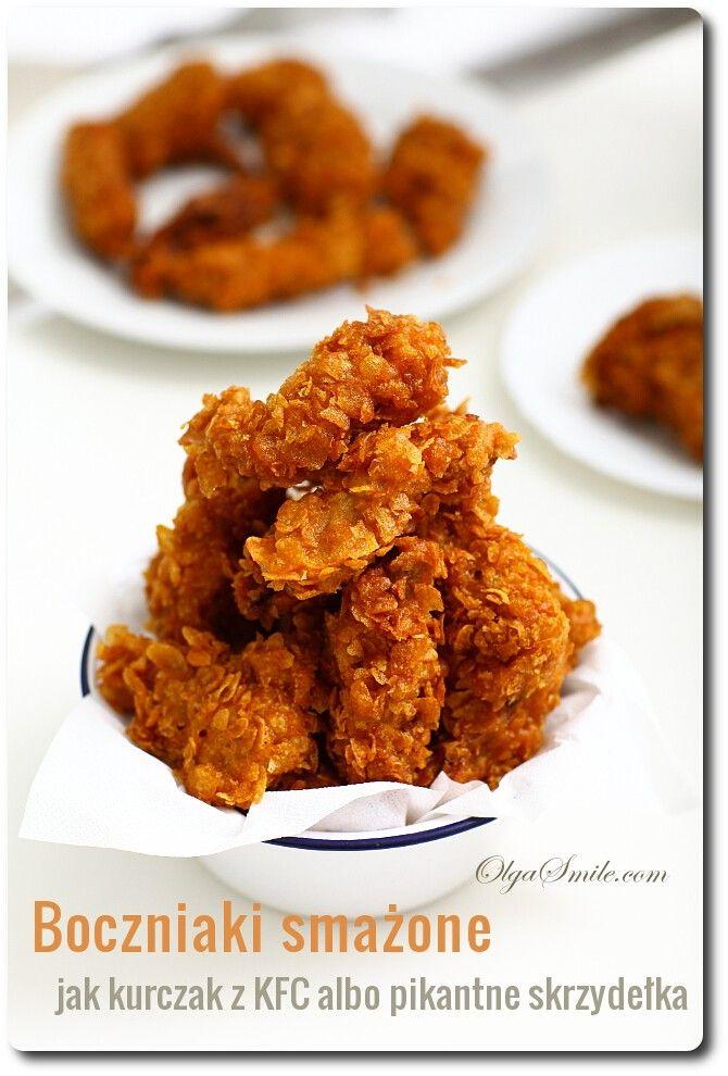 Boczniaki Smażone Jak Kurczak Z KFC - Przepis Olgi Smile