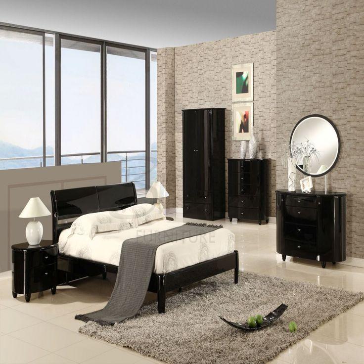 Black Gloss Bedroom Furniture Set - Modern Bedroom Sets Queen Check more at http://maliceauxmerveilles.com/black-gloss-bedroom-furniture-set/
