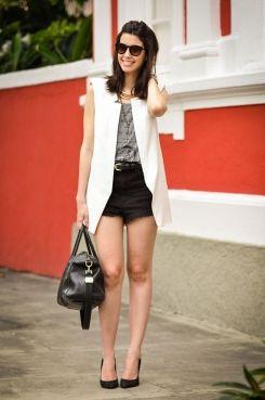 Como usar shorts de cintura alta para valorizar sua silhueta - Dicas de Mulher