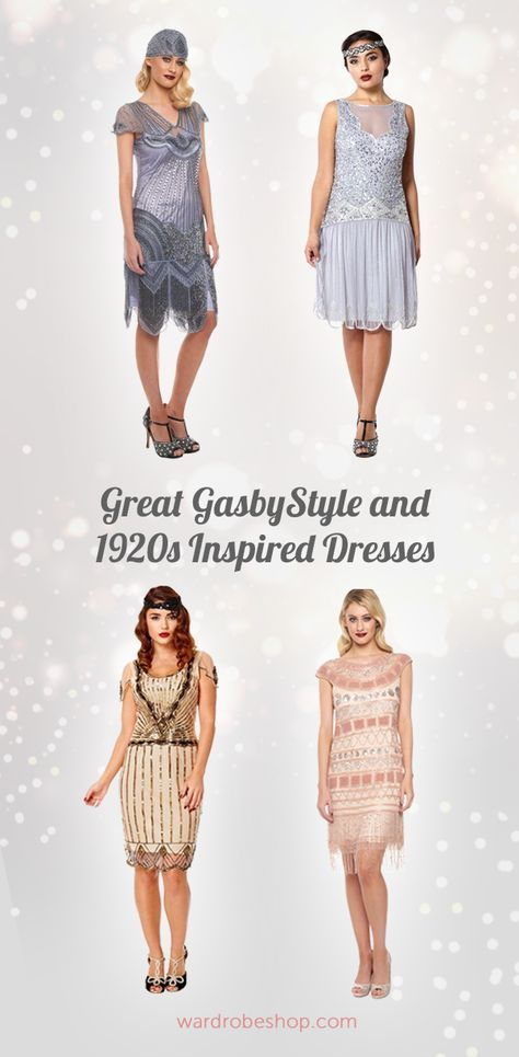 a53b977d86f Great Gatsby   1920s Inspired Dresses