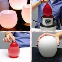 How to Make Water Balloon Candle Holders {DIY}
