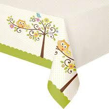 "Happi Tree Tablecover (includes 1 pc of rectangular plastic tablecover that measures 54"" by 108"" in a pack)"