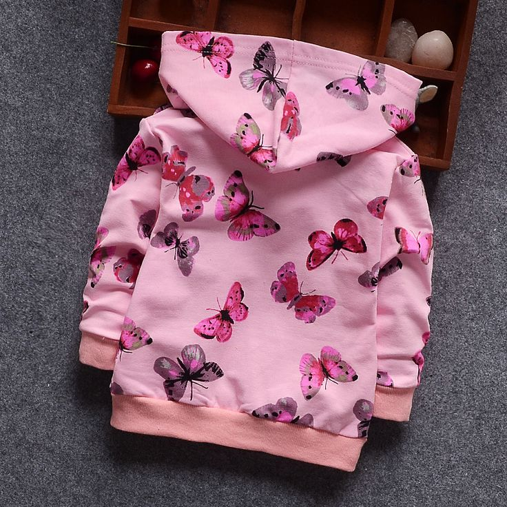 Awesome Butterfly Jacket New Arrival Clothing For Baby Girls Coat Cartoon Printed Flight jacket Autumn Kids Outerwear Children Clothes - $22.71 - Buy it Now!
