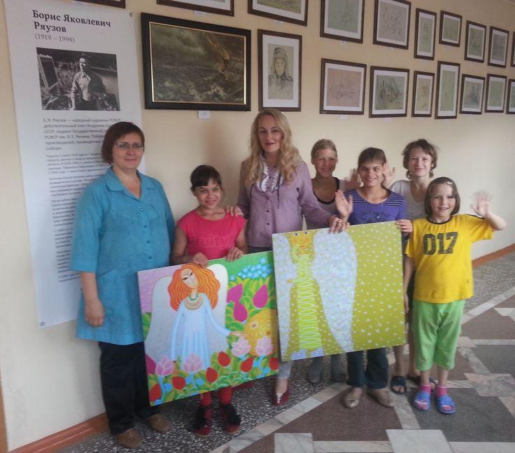 Гости из музея1