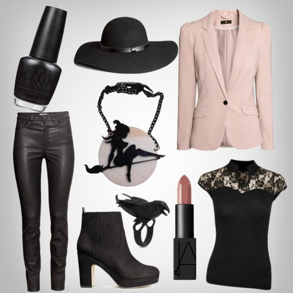 A fashion look from August 2015 by venusmantrap featuring H&M, NARS Cosmetics and OPI