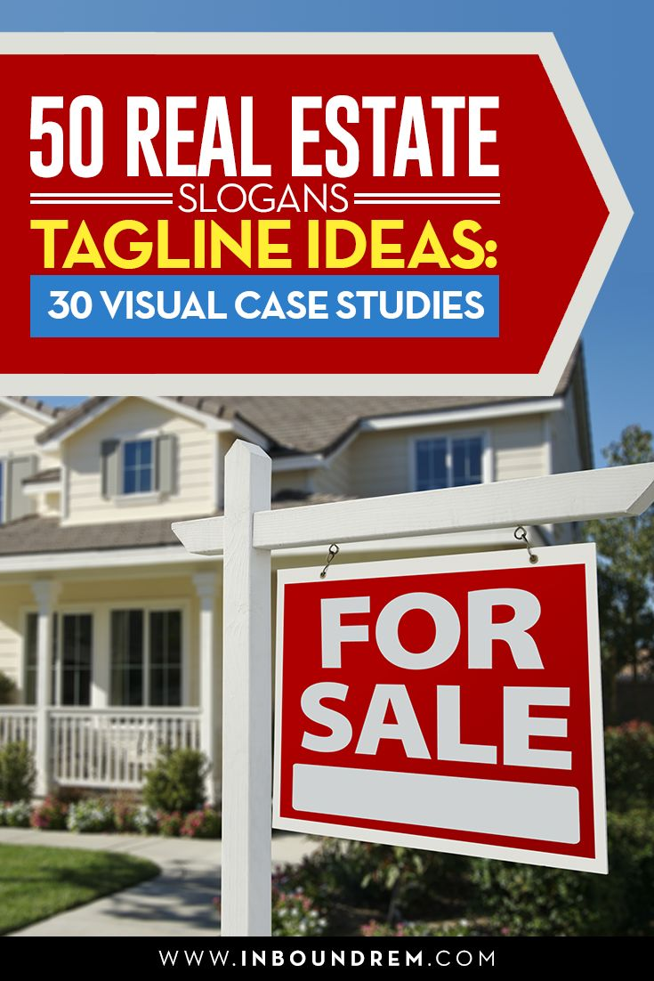 This FIRST OF IT'S KIND visual tutorial provides the best real estate taglines and slogans ++ SHOWS YOU HOW THEY ARE BEING USED BY REAL ESTATE BROKERS AND AGENTS across the internet.   #realestate #branding