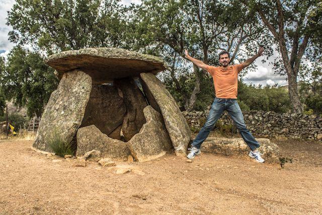 El Parque Tajo Internacional y sus actividades: dolmen Mellizo