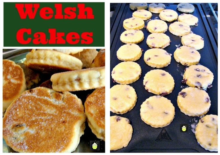 Welsh Cakes - An old family recipe, traditionally served warm, simply with a little butter on the tops!