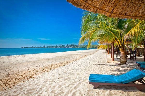 Vous pourrez profiter de tout le charme balnéaire de l'Asie du Sud-Est à Sihanoukville !