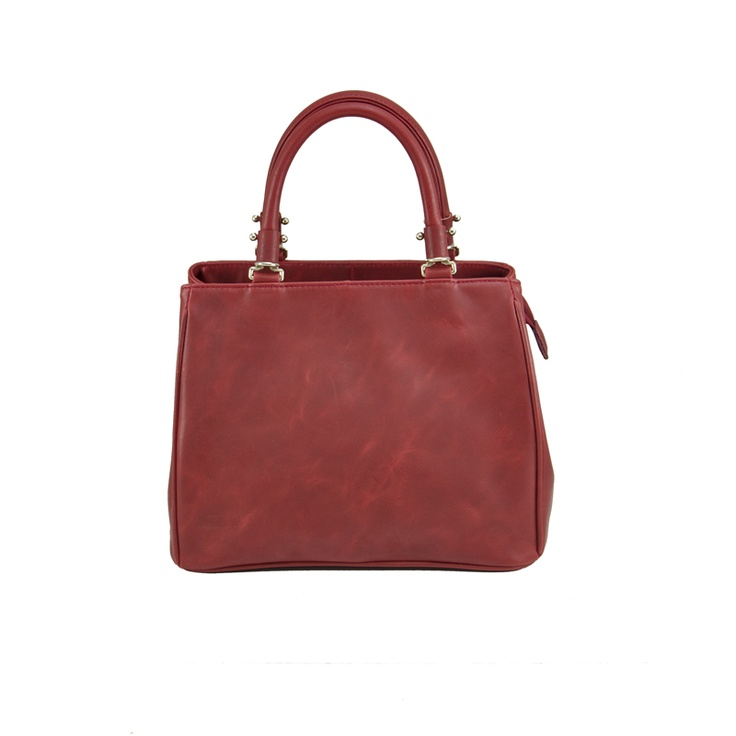 Tribecca Leather Handbag in Red - $179.00   Check it out at: http://www.bagaholics.com.au/leather-bags-c6/tribecca-leather-handbag-in-red-p584/