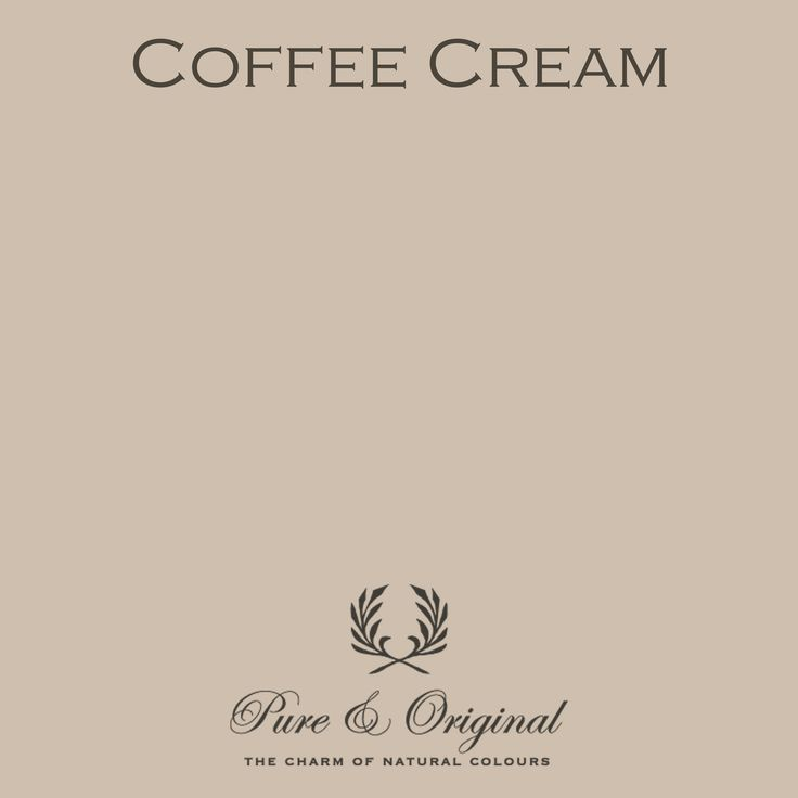 Color Coffee Cream - available in Kalkverf, Krijtverf, Lime paint, Chalk paint, Kritt maling, Kalk maling, Kreide Farbe, Kalk Farbe, Floorpaint, Vloerverf and much more. Colored with 100% mineral pigments.