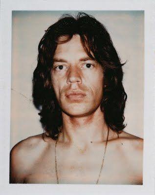 Mick Jagger. Andy Warhol Polaroids