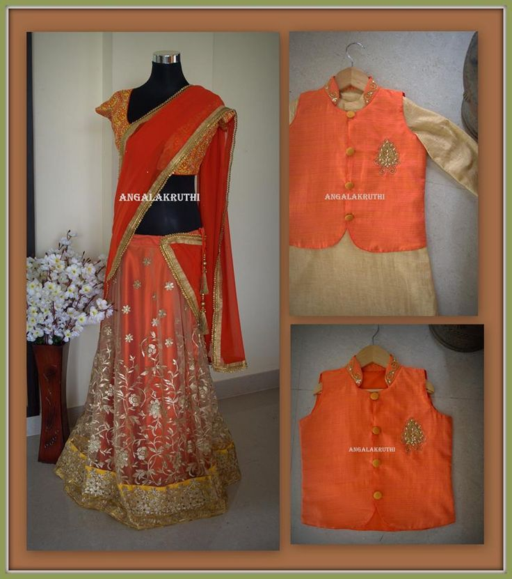 Mom and Me designs by Angalakruthi Custom Designs by Angalakruthi  Ladies and Kids boutique in Bangalore