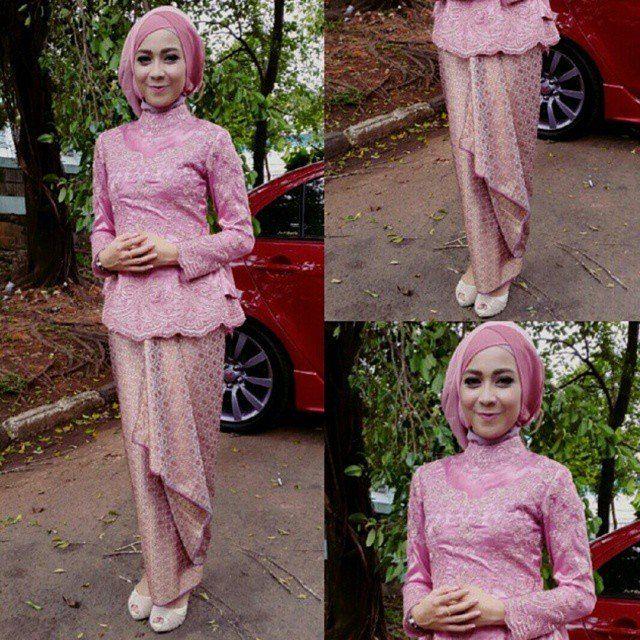 Hijab Yang Cocok Untuk Kebaya Warna Pink Gambar Islami