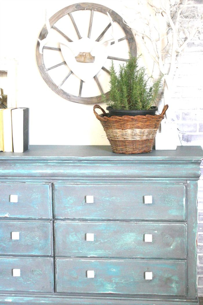 Salt Wash Finish On Furniture   Refunk My Junk   In This DIY Furniture  Tutorial,
