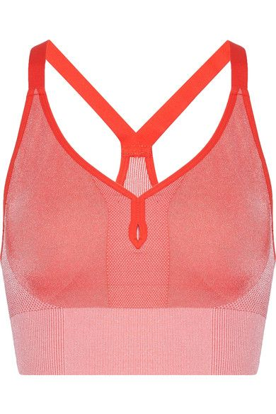 Nike - Dri-fit Stretch-jersey Sports Bra - Orange -