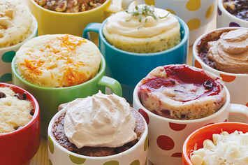 18 Microwave Snacks You Can Cook In A Mug. Genius. Now all I need is a microwave.