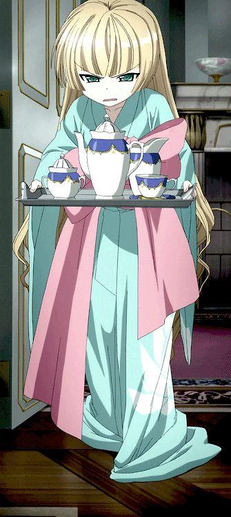 Gosick   Victorique de Blois   Golden Fairy   Gray Wolf   Monstre Charmant   Anime   Gif   SailorMeowMeow