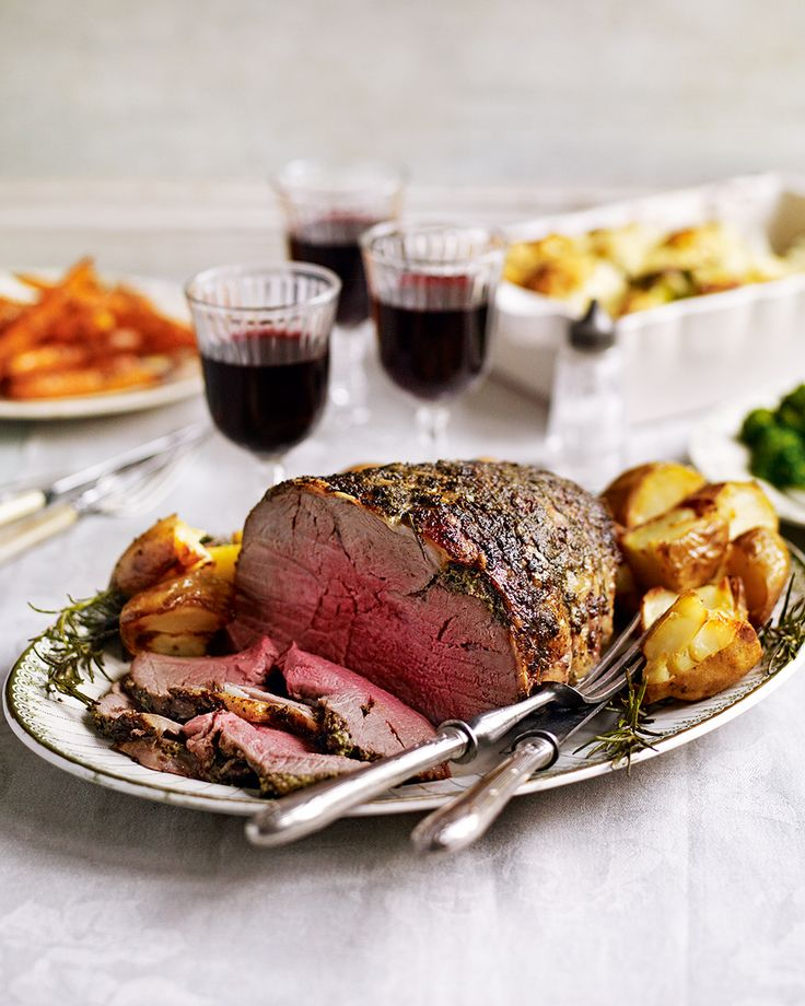 Try something new for your Sunday lunch – Debbie Major's recipe combines succulent roast lamb with a herby pesto marinade, it's homely enough for weekends but will impress dinner part guests too.