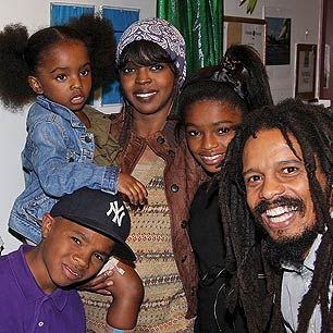 Rohan Marley and Lauryn Hill children together