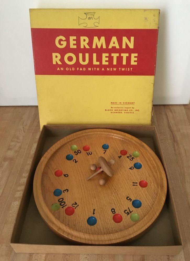 German roulette game excersize pokies