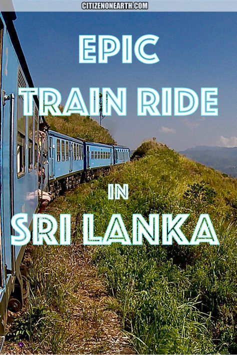 How to plan the most scenic train ride in Sri Lanka. #VisitSriLanka