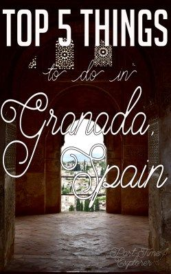 Of all the cities of Spain, Granada is my favourite. Fall in love with it with me as I list the top 5 things to do in Granada.