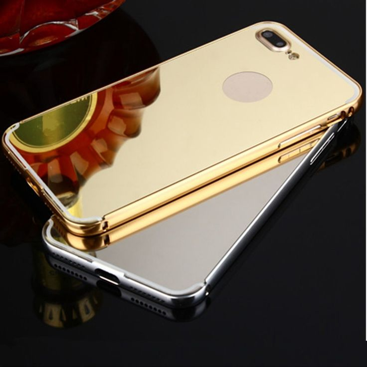 Sale 14% (9.59$) - Mirror TPU Shockproof Dropproof Case For iPhone 7 Plus