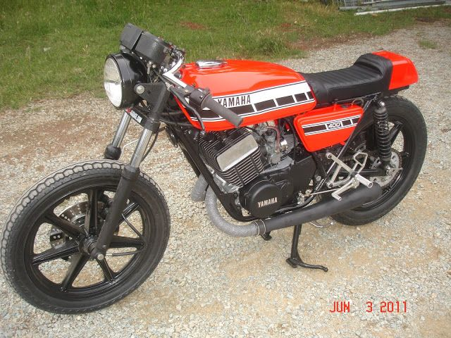 11 best images about rd400 ideas on pinterest bikes for Garage yamaha scooter