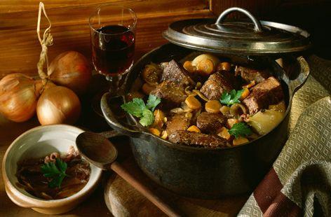 Beef & Carrot Stew/Casserole
