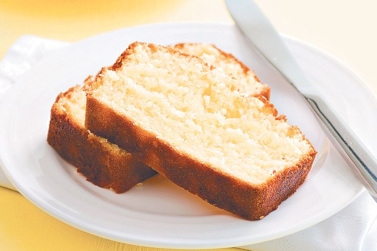 A beautiful, moist cake infused with citrus and coconut. Yes please!
