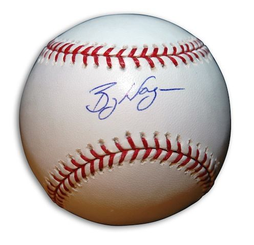 Autographed Billy Wagner Baseball