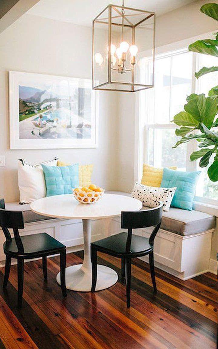 Small dining room 12 den pinterest small dining for Small dining room ideas pinterest