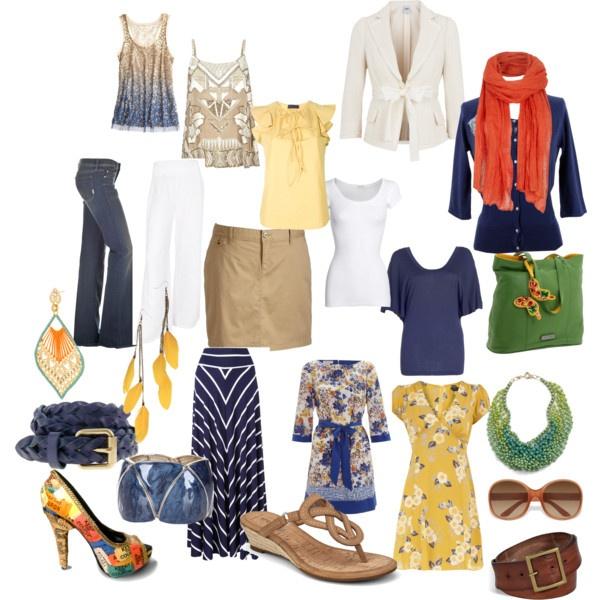 Capsule city break wardrobe, created by oliviafarrer on Polyvore