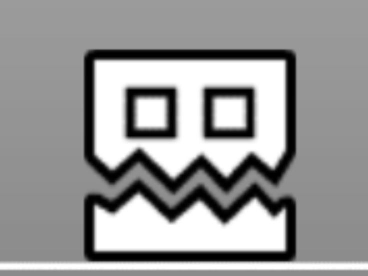 You Can Get This Square On Geometry Dash By Completing Blast Processing