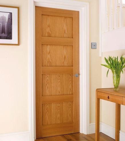 4 Panel Oak Shaker door