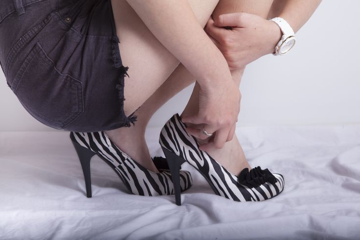 An image from shoes photography assignment at Tafe