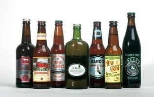Taste test of seven brands of gluten-free beer. (Photo by Sarah Weiser, The Herald)