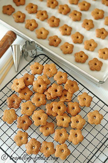 Itadakimasu! 蕎麦ぼうろ Soba Boro - Kyoto Buckwheat Cookies