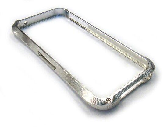 Bumpers Cleave iPhone 4 & 5 Champagne, Plata, Negro 6990 + mica de vidrio