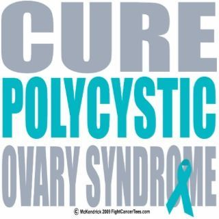 Cure PCOS! September is/was PCOS Awareness Month. #pcos