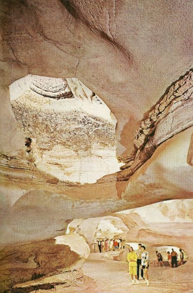 66 miles from Austin. Longhorn Cavern's Hall of Marble, Texas National Geographic | November 1963