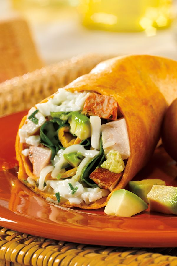 Breakfast should keep you full, satisfied and healthy, and that's exactly what Dietz & Watson's Santa Fe Turkey, Egg White & Avocado Breakfast Wrap does.