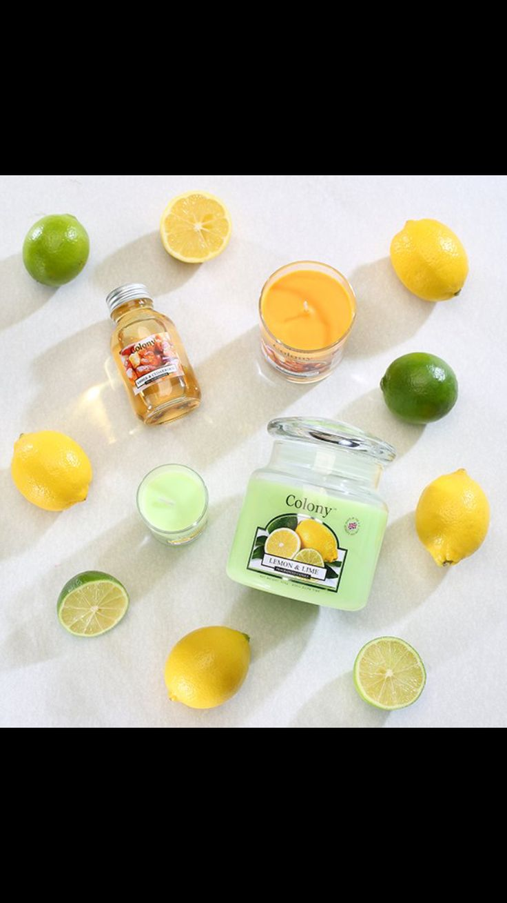 Another summer scent from Wax Lyrical lemon & lime.